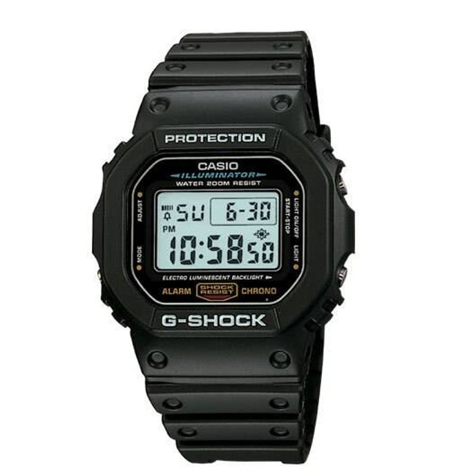 Casio DW5600E-1 G-SHOCK Classic Watch DW5600E-1 079767554439