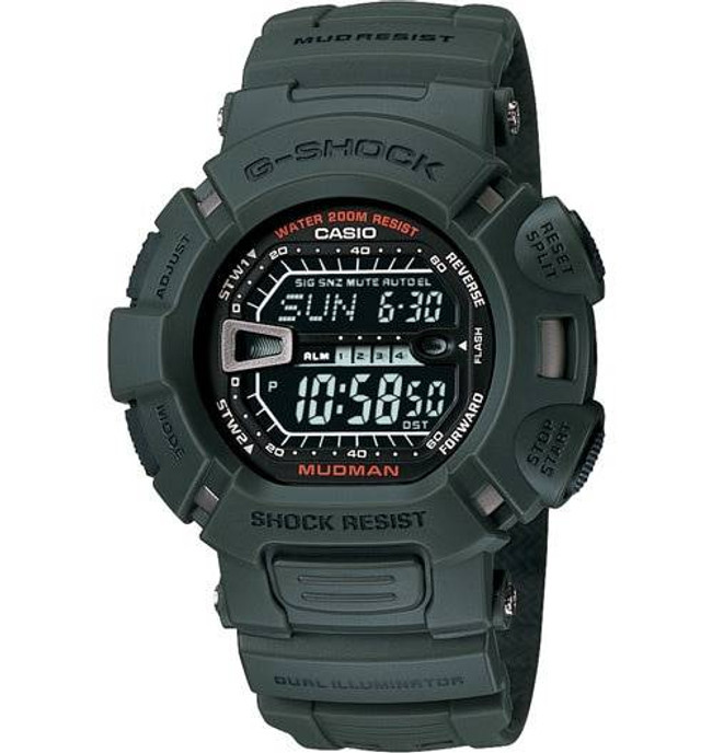 Casio G9000-3V G-Shock Mudman Watch G9000-3V 079767859701