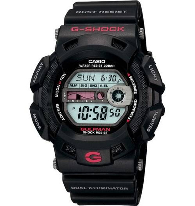 Casio G9100-1 G-Shock Basic Gulfman Watch G9100-1 079767877682