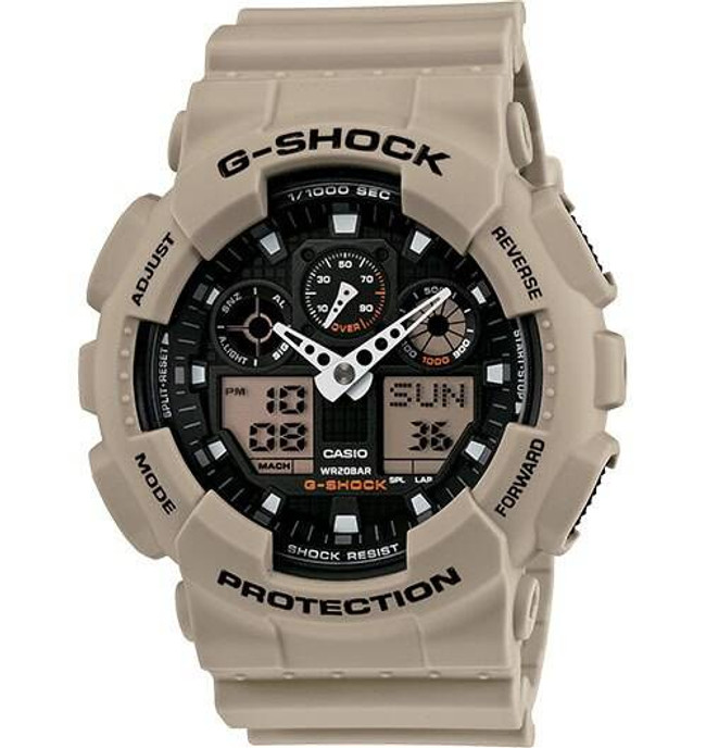 Casio GA100SD-8A Military Ani/Digi Watch GA100SD-8A 079767913960