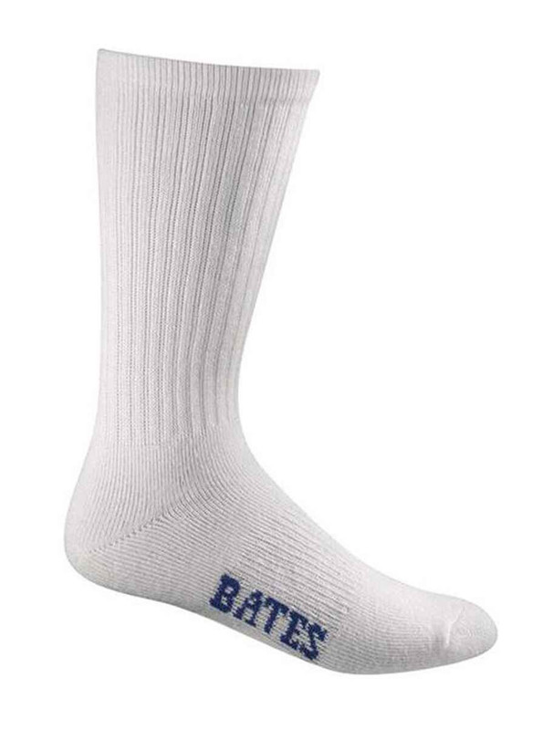 Bates Footwear Cotton Duty Sock Crew Cut - 4 Pack E11936270