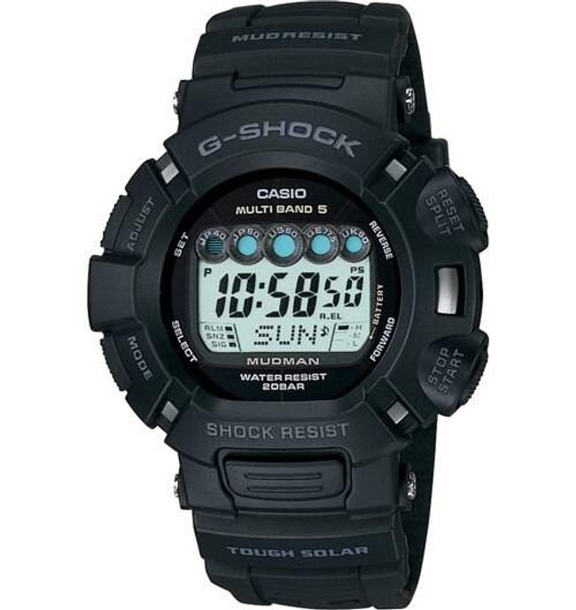 Casio GW9000A-1 Atomic Solar Mudman Watch GW9000A-1