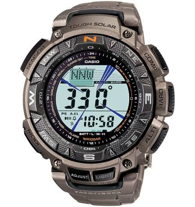 Casio PAG240T-7 Pathfinder Tough-Solar Watch PAG240T-7 079767924881