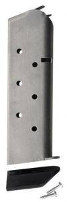 Chip McCormick Mag Classic 45 ACP 8Rd Stainless with Pad 1911 14141 14141 705263141414