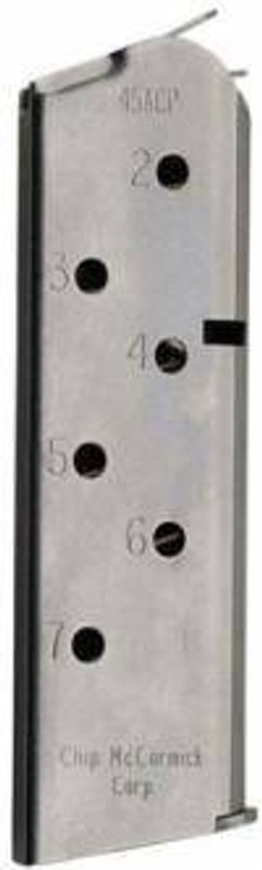 Chip McCormick Mag Match Grade 45 ACP 7Rd Stainless 1911 14120 14120 705263141209