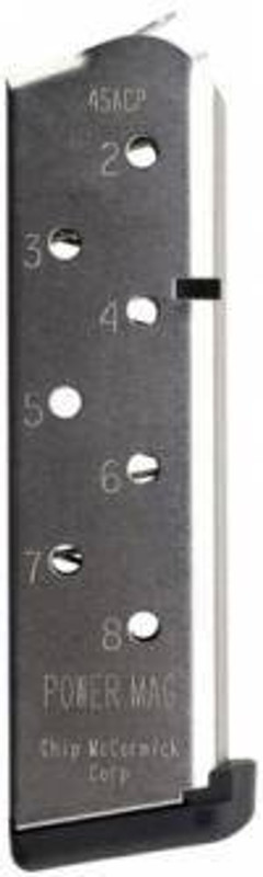 Chip McCormick Mag Power 45 ACP 8Rd Stainless 1911 14131 14131 705263141315
