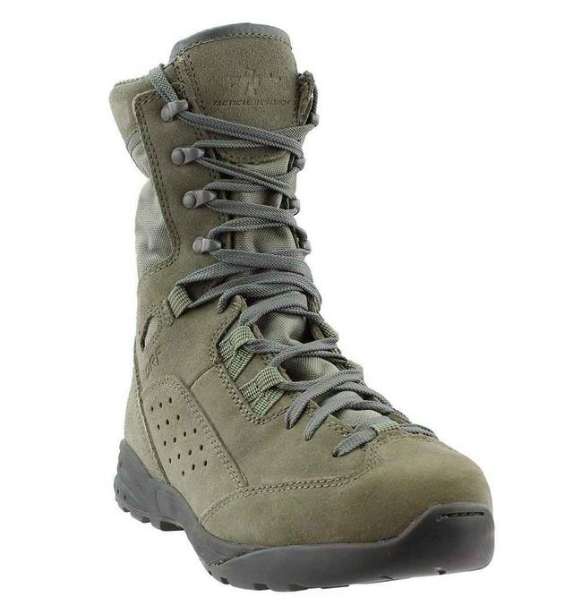 Tactical Research Mens Sage Green QRF Alpha S9 Hot Weather Assault Tactical Boot ALPHAS9