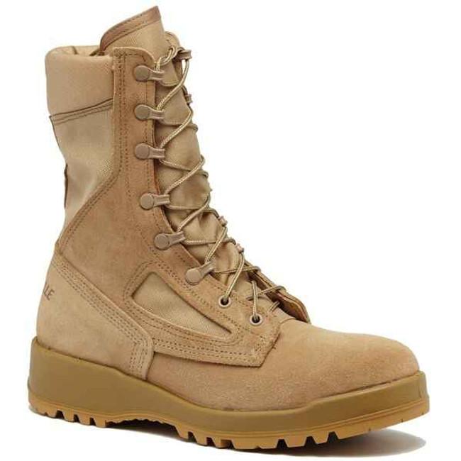 Belleville Boots 300 DES ST - Hot Weather Tan Steel Toe Boot 300-DES-ST