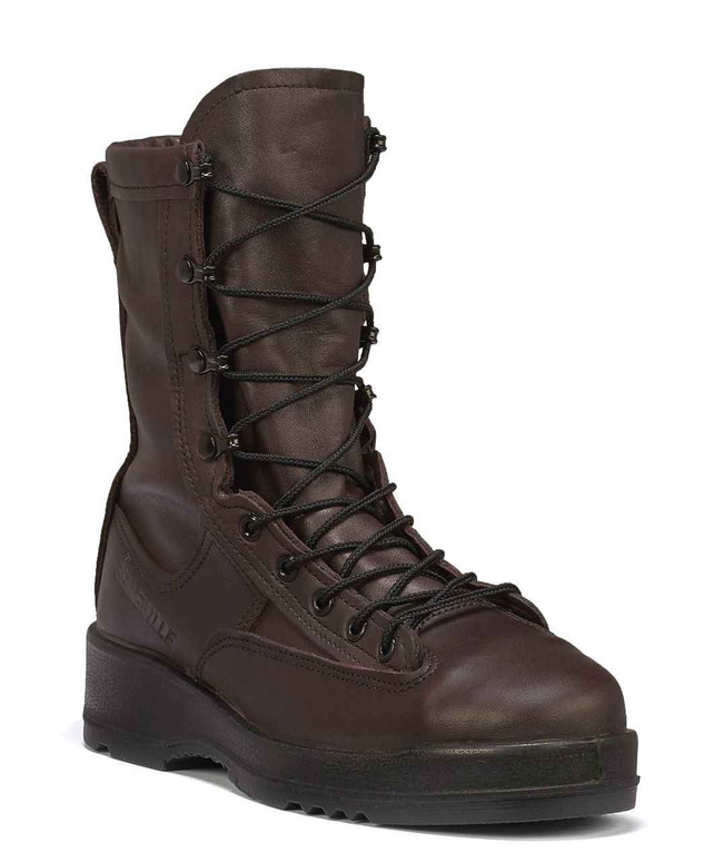 Belleville Boots 330 ST - Wet Weather Chocolate Brown Safety Toe Flight Boot - USN/USMC 330-ST