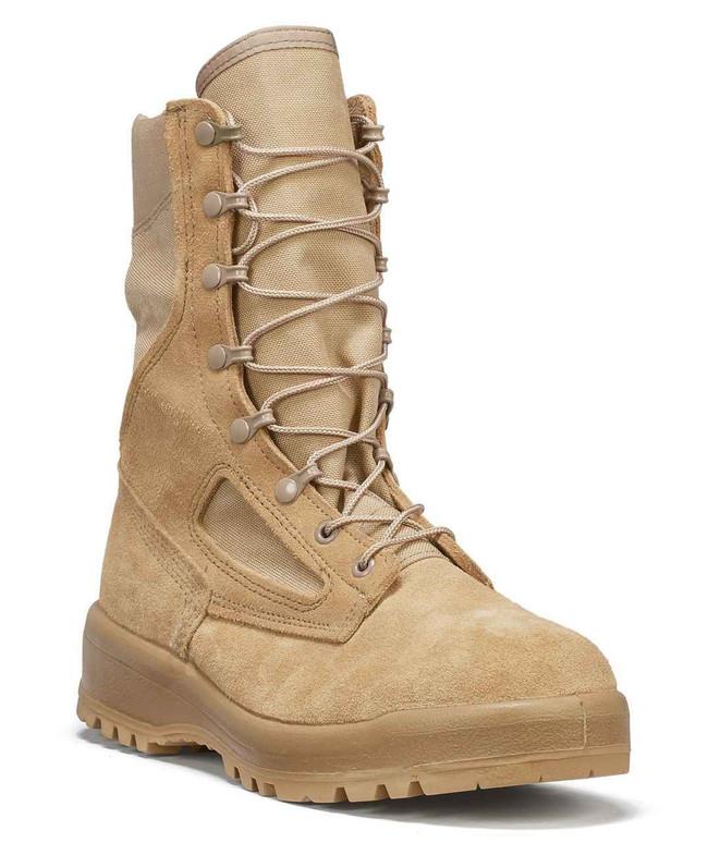 Belleville Boots 390 DES - Hot Weather Tan Combat Boots 390DES