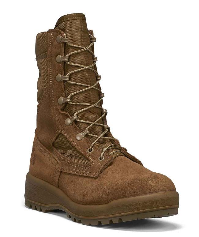 Belleville Boots 550 ST Hot Weather Olive Green Safety Toe Boot - USMC 550-BEL
