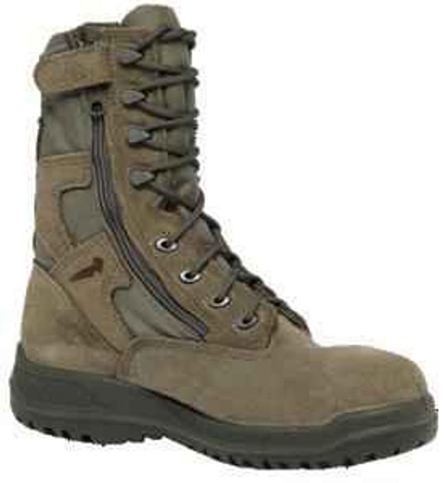 Belleville Boots 610 Z - 8 Hot Weather Tactical Side Zip Boots 610Z