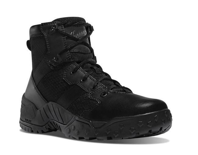 Danner Mens Scorch 6 Side Zip Black Tactical Boot 25730 DDANNER-25730