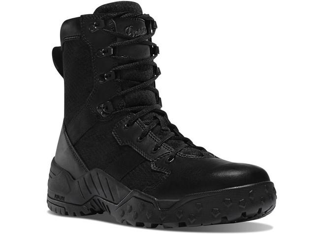 Danner Mens Scorch 8 Side Zip Black Tactical Boot 25732 DANNER-25732