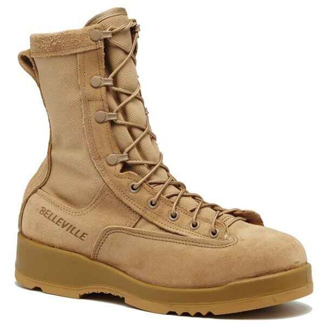 Belleville Boots 795 - Waterproof Insulated Tan Combat Boots 795