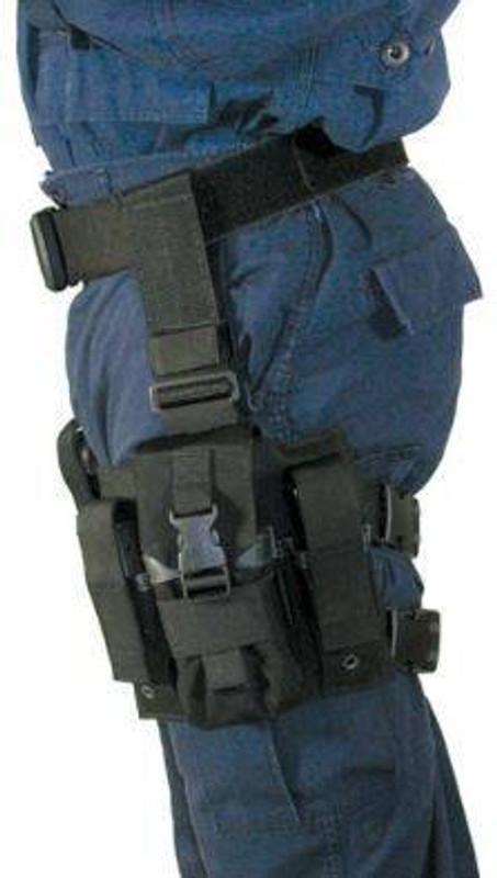 Blackhawk Omega Elite Enhanced M16/Pistol Mag Pouch 5616PMBK 648018016158
