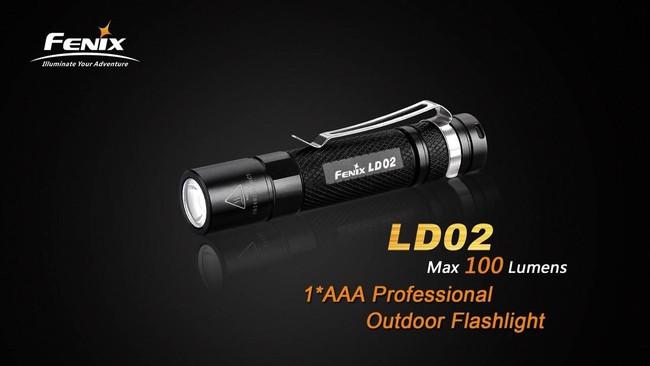 Fenix LD02 100 Lumen Flashlight LD02 6942870302683