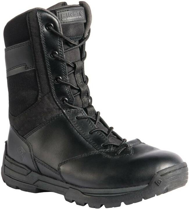 First Tactical Womens 8 Safety Toe Side Zip Duty Boot 166002