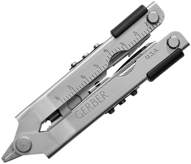 Gerber Multi-Plier 600 Stainless w/ Cutter Inserts and Leather Sheath 07535G 013658075351