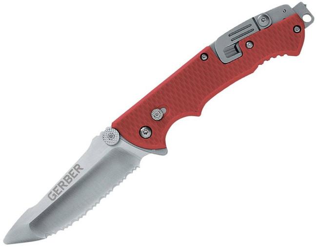 Gerber Hinderer Rescue Folding Knife 22-41534 013658415348