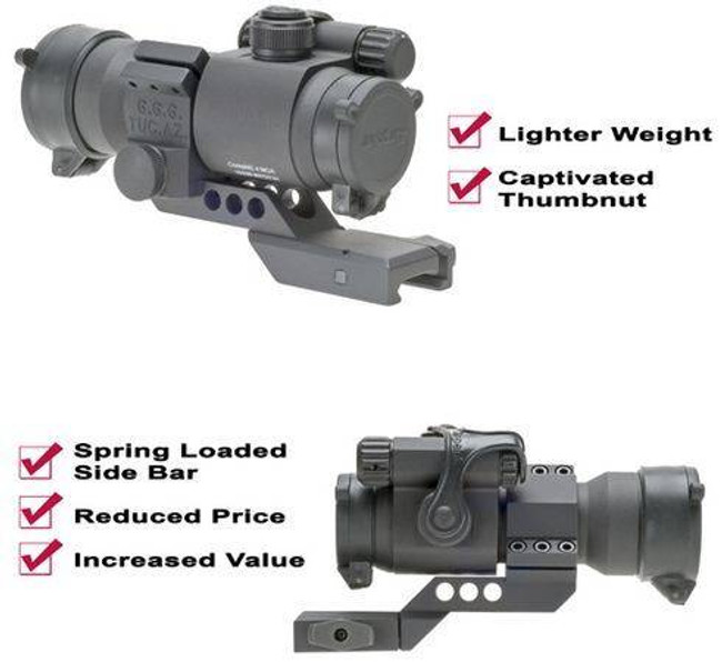 GGandG Cantilever Aimpoint Ring Mount 1014-GG