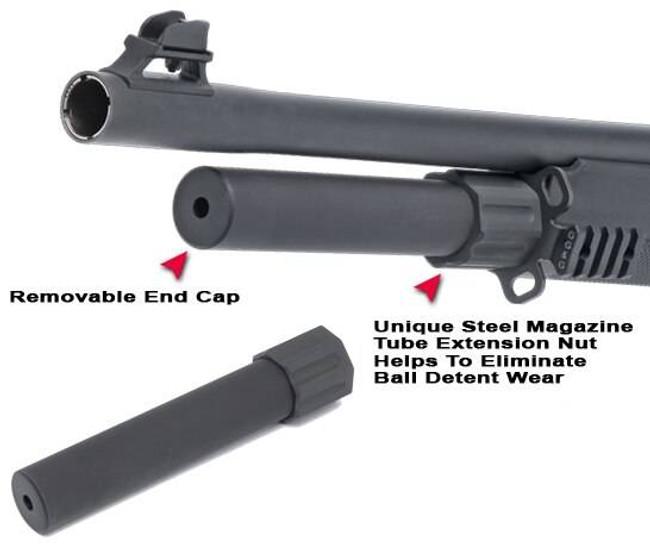GGandG Benelli M2 2-Shot Magazine Extension Tube 1628 813157005619