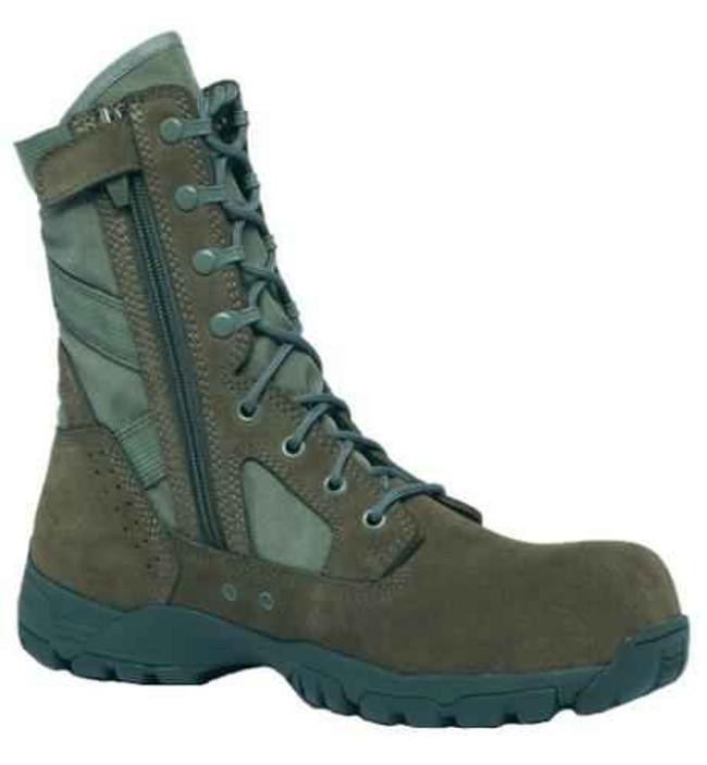 Tactical Research Mens Flyweight Ultra Lightweight Hot Weather Side-Zip Composite Toe Garrison Boot TR696ZCT