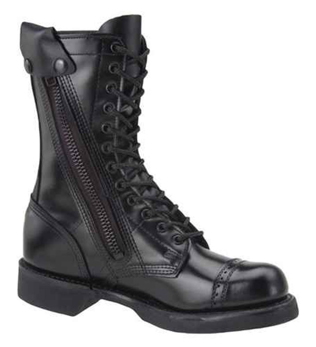 Corcoran Mens 10 Leather Side Zip Jump Boot 995