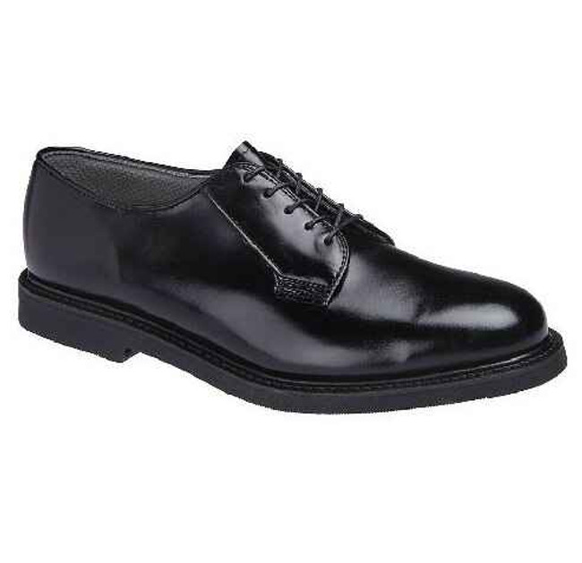 Corcoran CV1554 Womens Oxford Black Leather Dress CV1554