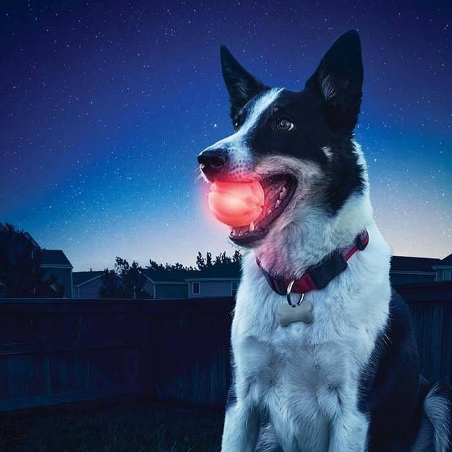 Nite Ize GlowStreak Red LED Ball