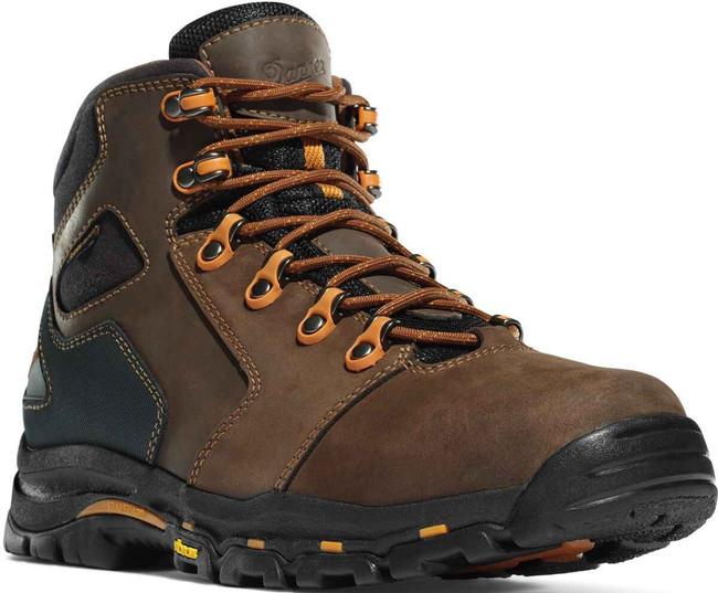 Danner Mens Vicious Brown/Orange Non-Metallic Toe 4.5 Work Boot 13860 13860