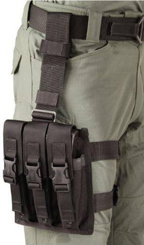 Blackhawk Omega Elite 9mm SMG Mag Pouch 56SMG3BK 648018007668