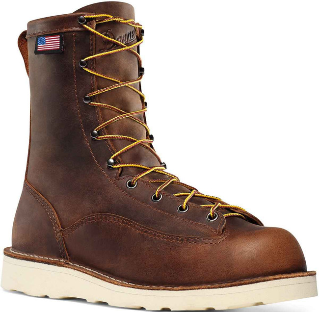 Danner Mens Bull Run Brown Cristy 8 Work Boot 15556 15556