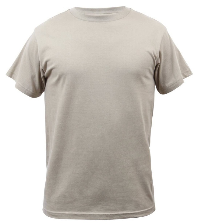 Rothco Solid Color 100percent Cotton T-Shirt SHIRT-RO