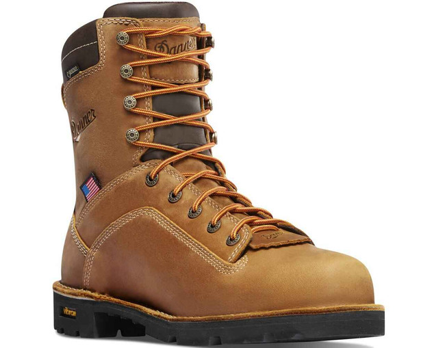 Danner Mens Quarry USA 400G Non-Metallic Toe Work Boot 17321 17321