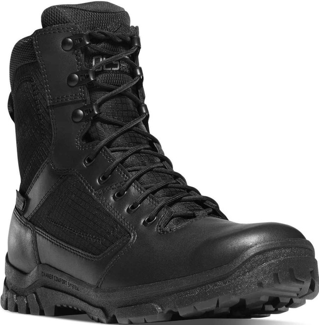 Danner Mens Lookout 8 Black Tactical Boot 23822 23822