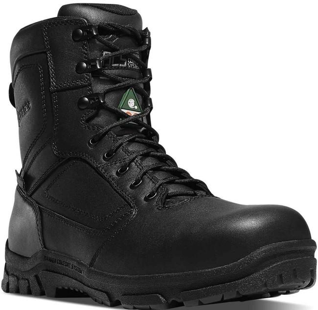 Danner Mens EMS/CSA Side-Zip 8 Black Tactical Boot 23826 23826