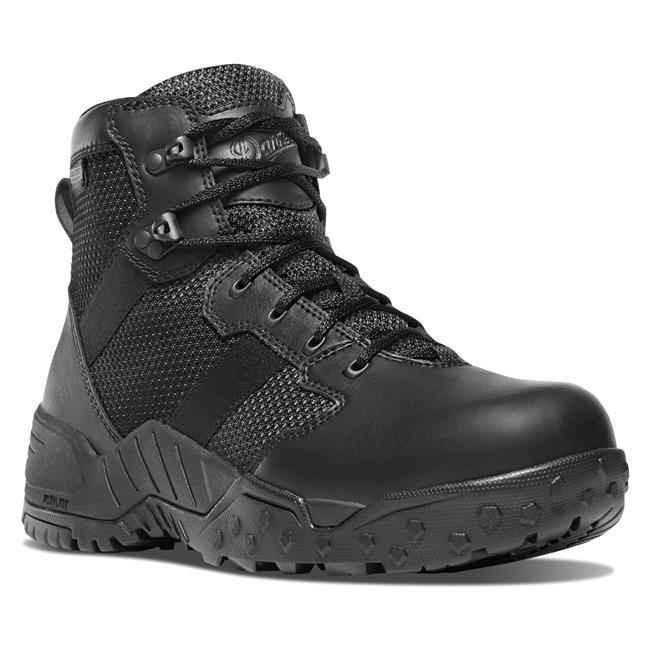 Danner Mens Scorch Side-Zip 6 Black Danner Dry Tactical Boot 25731 25731