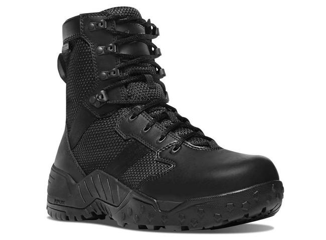 Danner Mens Scorch Side-Zip 8 Black Danner Dry Tactical Boot 25733 25733