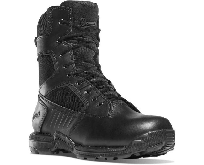 Danner Mens StrikerBolt Side-Zip 8 Black Tatical Boot 26634 26634