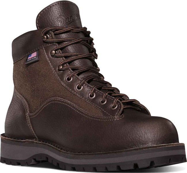 Danner Mens Light II 6 Dark Brown Outdoor Boot 33020 33020
