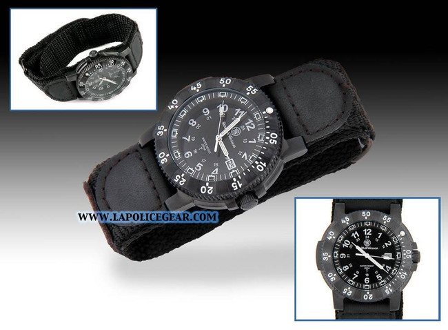 Smith and Wesson Tritium H3 Watch Nylon 357N 024718135731