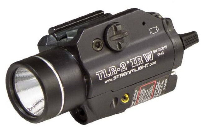 Streamlight TLR-2 IRW WeaponLight with Eye Safe IR Laser 69165 080926691650