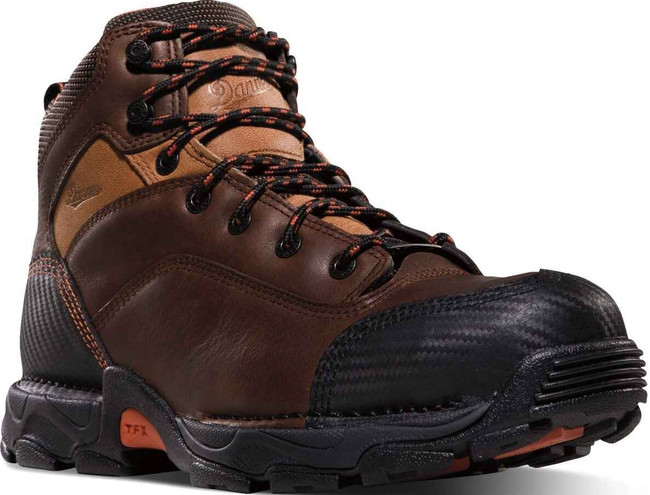 Danner Mens Corvallis GTX Plain Toe Work Boots Brown 17601 17601-DA