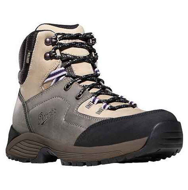 Danner Womens Zigzag Trail Grey Hiking Boots 31030