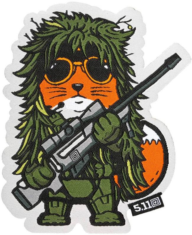 5.11 Tactical Fox Sniper Patch 81074 888579123036
