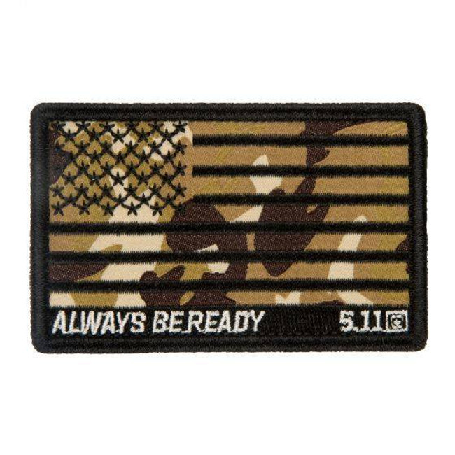 5.11 Tactical Camo American Flag Patch 81433