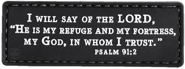 5ive Star Gear Psalm 27:1 Morale Patch