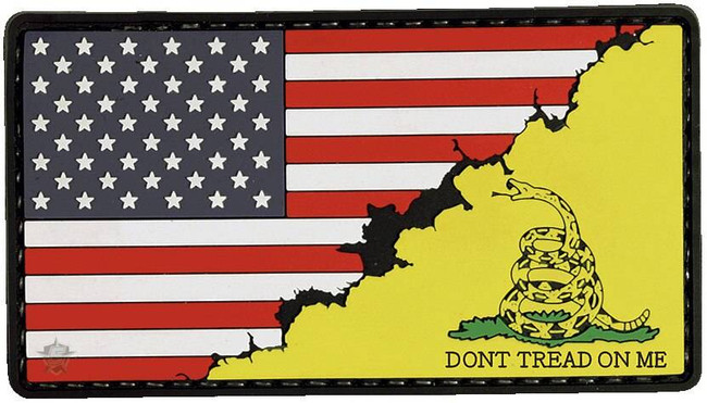 5ive Star Gear America/Don't Tread Flag Morale Patch