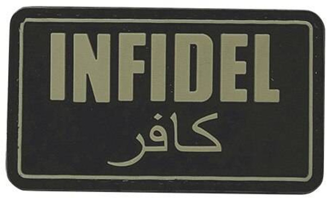 5ive Star Gear Infidel Morale Patch